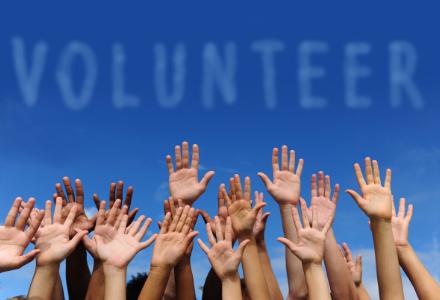 Volunteers for us