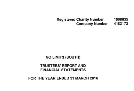 Trustees' Report and Financial Statements 2016
